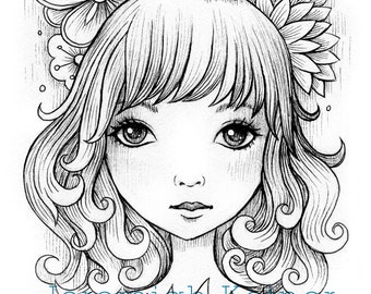 On My Mind - Digital Coloring Page