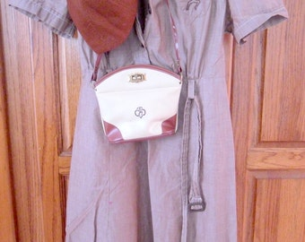 Complete Vintage Brownie Uniform With Cap/ Purse/Belt