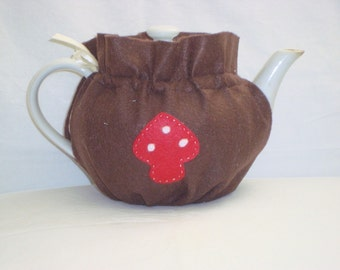 Brown Felt Tea Cozy