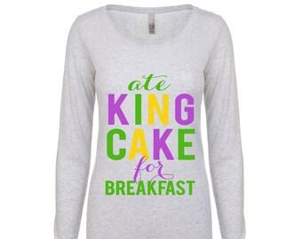 Mardi Gras - Ate King Cake for Breakfast