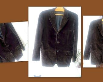 VINTAGE * man 80's Velvet jacket