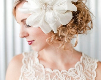 FREJA - Double, Silk Bloom, Headpiece