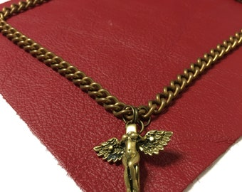 Winged Goddess Necklace