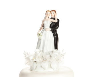 Elegant Calla Lily Cake Topper - Custom Painted Hair Color Available - 106623C