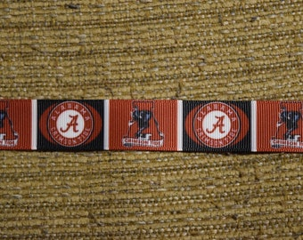 "Alabama Crimson Tide 7/8"" Grosgrain Ribbon"