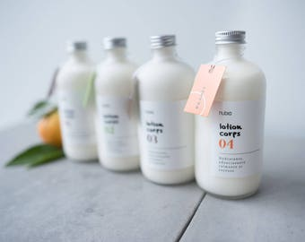 Body lotion organic no04. Citrus and lavender. 240 ml