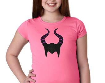 Maleficent - Sleeping Beauty - Disney Villains - Disney Halloween - Disney Girls Shirt - Disney Kids Shirt