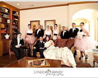 Bridesmaid Dress Wedding Dress Tutu Dress Skirt Tulle Skirt Wedding Skirt Bridal Skirt Pink Bridesmaid Dress