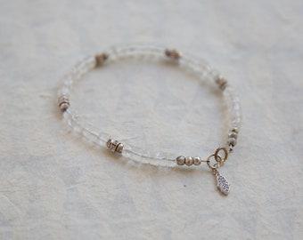 Moonstone Sparkle Bracelet