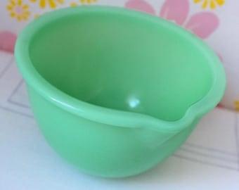 Vintage Jadeite Mckee Mixing Bowl