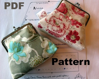 Coin Purse Pattern and Instructions PDF format Emailed to you