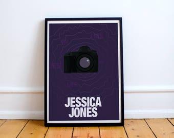 Jessica Jones Minimalist Poster