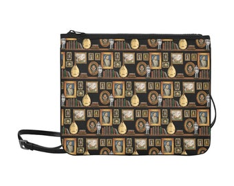 Henry VIII Slim Clutch Bag