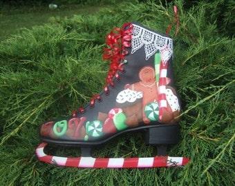 Sweet Joy Decorative Painting Pattern Packet  Skate Christmas