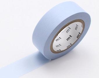 Pastel Blue Washi Tape • MT Masking Tape Pastel Washi Tape • Washi Tape UK • Japanese stationery • Pastel Blue