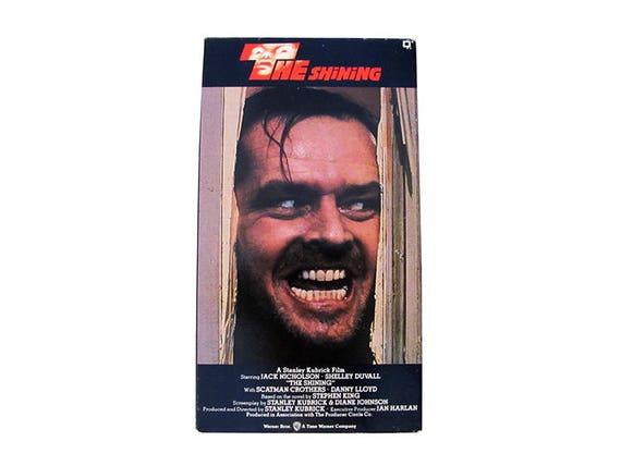 The Shining VHS