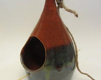 Ceramic Bird Feeders; Choose from 7;  Stoneware; Garden Decor; Outdoor Decor;