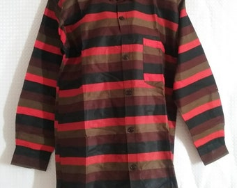 Long sleeves African shirt available in XL size