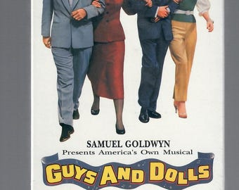 Guys and Dolls original vhs factory sealed