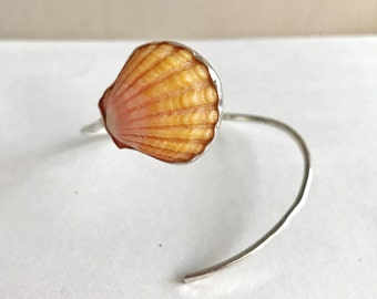 Sunrise shell Cuff