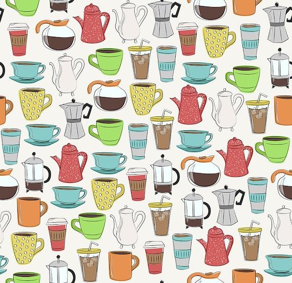 coffee lover (pattern)
