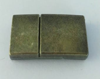 1 Bronze Strong Magnetic Clasp