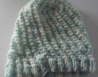 Shetland ,Handspun ,Hand knit , Hand Dyed Tam