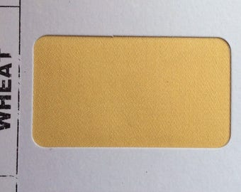 High quality cotton sateen dyed in Japan, wheat yellow