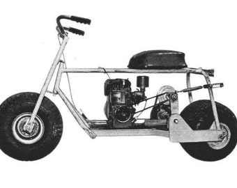 Mini Bike Plans Vintage Scooter