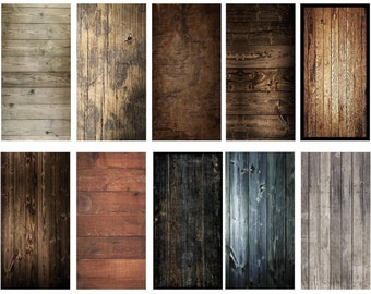 Woodgrain Wood Finish Cornhole Wrap Set Skins - Laminated Set - Pick Design