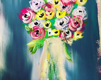 Mama Bouquet #1 8x10 Original