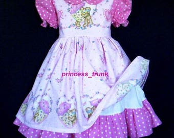 NEW Daisy Kingdom Bear Hugs Valentine's Fancy Dress Deluxe  Custom Size