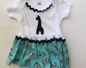 Size 18 months Girl's Onesie Dress Body Suit