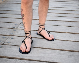 Barefoot Sandal, Men Sandals, Black Color, Sandals, Barefoot, Black Barefoot, Summer Sandals, Beach Sandals, Sparta Sandals, Genuine Leather