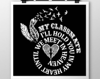 Spiral In Memory- Classmate SVG