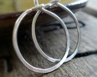 Lil' Every Day Hoops - Handmade. Sterling Silver