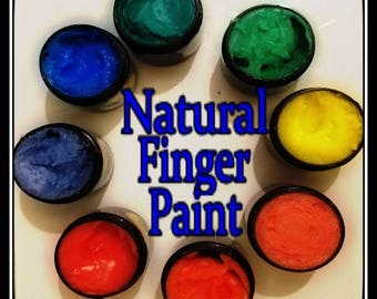 Finger Paint for the Kiddos!! Organic