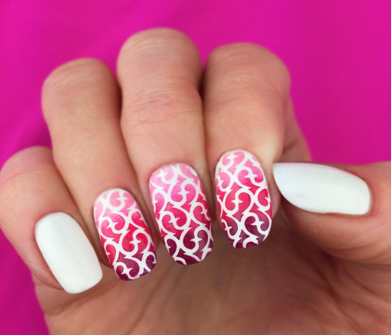 Sixty Nine pattern Nail Art Stencils - incredible nail art vinyls by ...