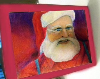 greeting card Christmas Santa Claus 15b