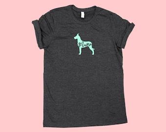 """Great Dane """"MAMA"""", Fur Mama Dog SHIRT"""