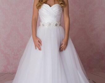 Real princess ball gown, bridal dress, wedding dress