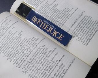 Beetlejuice Recycled Bookmark