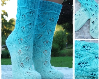 Adele* knitting pattern socks