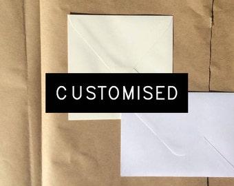 Customised Pack