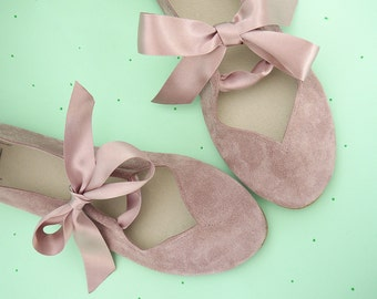 Ballet Flats. Ballet Flats With Ribbon. Mary Jane Shoes. Women Shoes. Wedding Shoes. Flat Wedding Shoes. Bridal Ballerinas. Rose Shoes Flats
