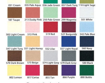 """Concealed Invisible Zips / Zipper (30 Colours & 4 Sizes) - 8"""" / 9"""" / 16"""" and 22"""" Zippers"""