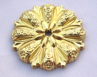 10pcs Flower Filigree Brass Findings for Jewelry Making bf209
