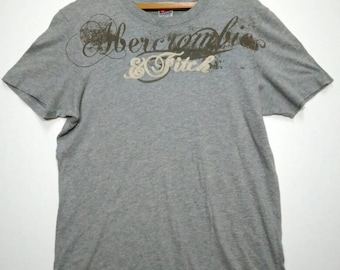 FREE Shipping... Vintage Abercrombie and Fitch Tshirt Medium