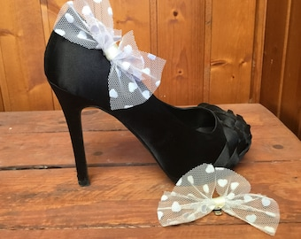 Shoe decoration bow. Bow Shoe Clips