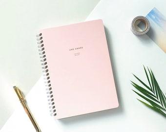 2018 Monthly & Weekly Planner [Pink] / Planner / Diary / Agenda / Journal / Bullet Journal / Personalised Planner